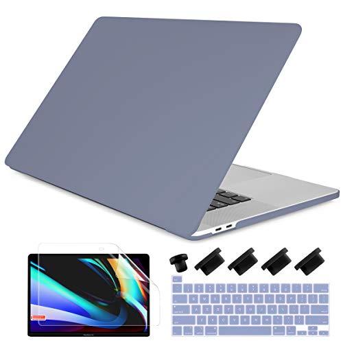 Carcasa Rigida para Macbook Pro 13 2020/21 Lavender Gray