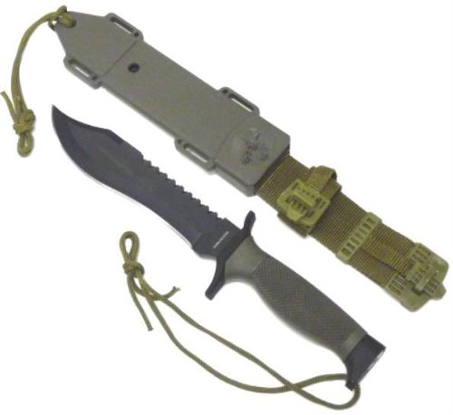 Row Fixed Hanger (12in Combat Fighting Knife HK6001 - Tactical / Survival Knives)