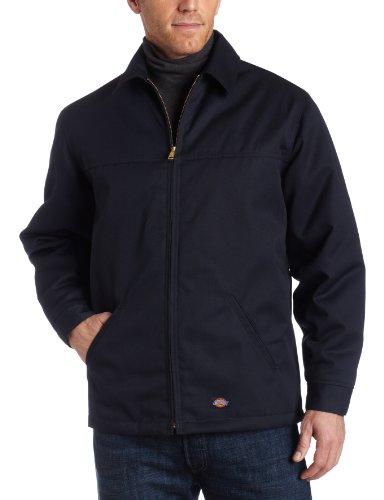 Dickies Mens Hip Length Twill Jacket, Dark Navy, 2X