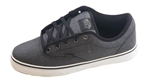 Vans Av Era (Vans AV Era 1.5 Chambray Black Mens Skateboarding)