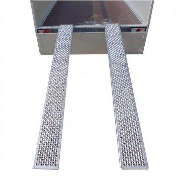 Set ALU Verladeschienen / Auffahrschienen 2000 x 200mm 400kg/Paar Variant