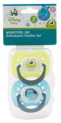 Disney Monsters Inc. Orthodontic Pacifier Set