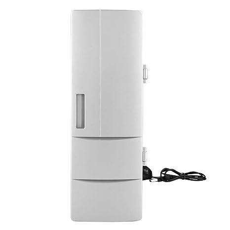ASHATA Mini USB Refrigerador y Calentador Portátiles Luces LED ...