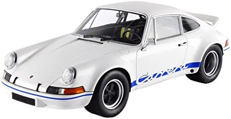 /911/Carrera RSR 2.7L/ /Blanco//Azul Minichamps 107065020/ /Escala 1//18/ /Porsche/ /1972/