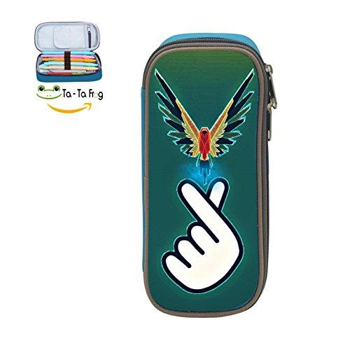 Logan-Love-Paul Student Pencil Case Large Capacity Makeup Pouch Office Pencil Bag