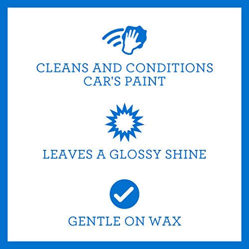 Car Wash Gallon - Soap and Conditioner Clean and Condition Paint without Damaging Wax Protection - 1 gallon 128oz TriNova