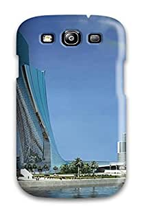 For ZippyDoritEduard Galaxy Protective Case, High Quality For Galaxy S3 Singapore Places Skin Case Cover
