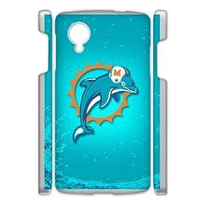 Google Nexus 5 Phone Case White Dolphin WQ5RT7428930