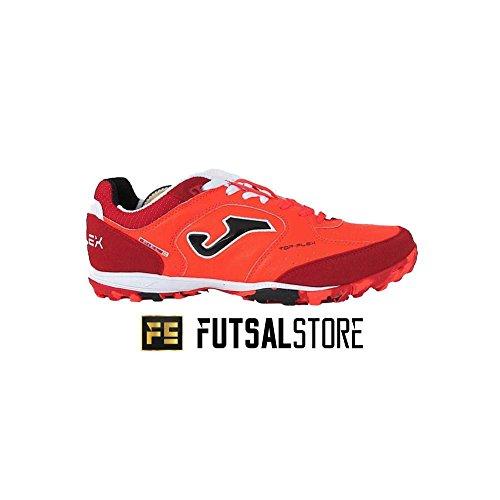 JOMA CALCETTO TOP FLEX TURF Futbal Fall Winter FUTBOL SALA BLANCO-NEGRO TF Orange