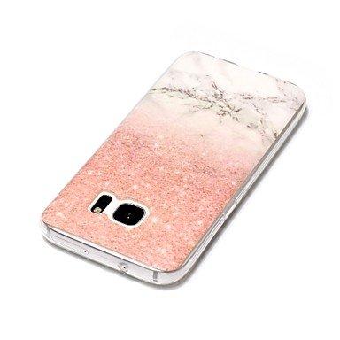 Casos hermosos, cubiertas, Para la galaxia s8 samsung galaxia s8 más la cubierta del caso marmol el patrón tpu material imd la caja del teléfono del arte s3 s4 s5 s6 ( Modelos Compatibles : Galaxy S6  Galaxy S4