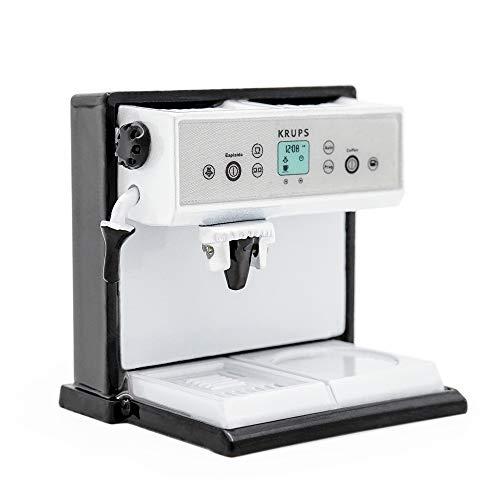 Odoria 1:12 Miniature Coffee Machine Cappuccino Maker Dollhouse Kitchen -