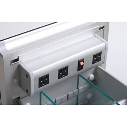Robern CB VDELECTRIC Vanity Electrical Outlet Strip