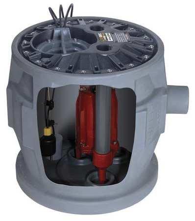 Grinder Pump System, Simplex, 115V