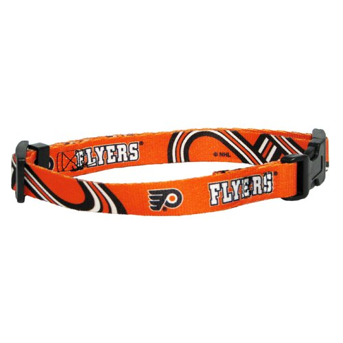 Hunter MFG Philadelphia Flyers Dog Collar, Medium