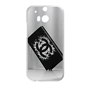 SANLSI Famous brand logo Chanel wallet design fashion cell phone case for HTC One M8
