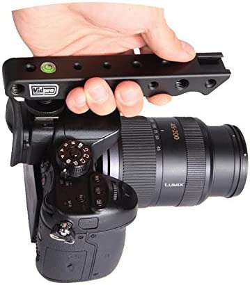 Olympus OM-D E-M10 II Limited Edition Digital Camera Vidpro VB-H Top Hand Grip for DSLRs Cameras and Camcorders