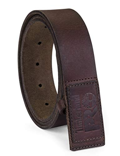 Timberland PRO Men's No-Scratch No Buckle Mechanic Belt, acorn, 38 (Scratch Proof Belt)