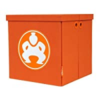 Sumo by Mobile Edge 18-Inch Folding Furniture Cubes, Orange