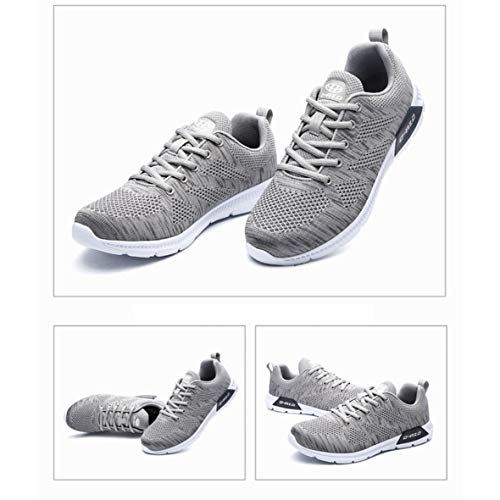 Womens's Exing Mesh 42 Shoes UN Dimensione Lovers Colore Shoes Fall Shoes Traspirante Sneakers Running Light Deodorant New B Uomo Knit f7qd7r