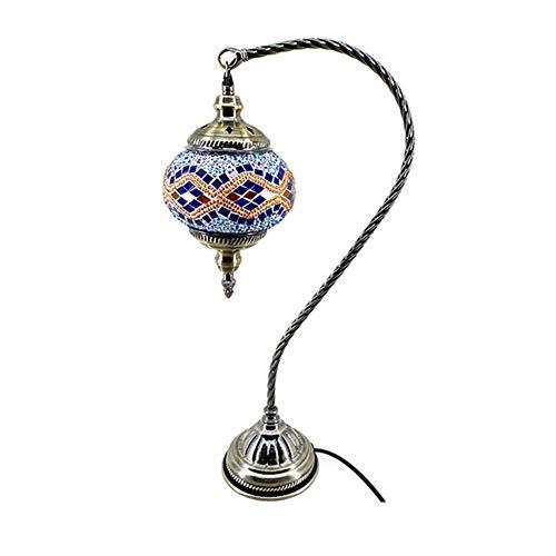 - Table Lamp Swan Neck Glass Globe Lampshade Arabian Mosaic Lamps Moroccan Lantern Turkish Light Mosaic Lighting Flooring Light