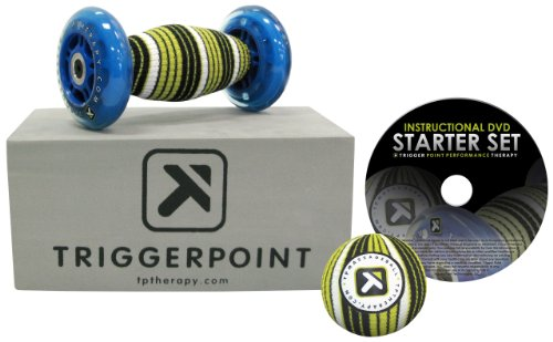 Trigger Point Performance Self Massage Starter Set with Instructional DVD