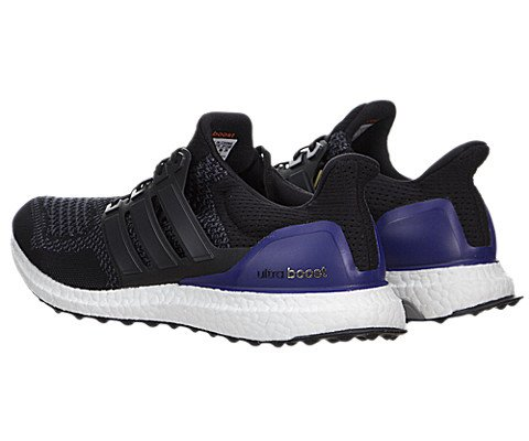Adidas Black/Purple Running Shoe Men US