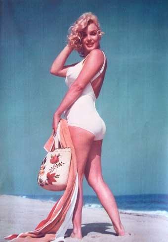 monroe swimsuit Marilyn