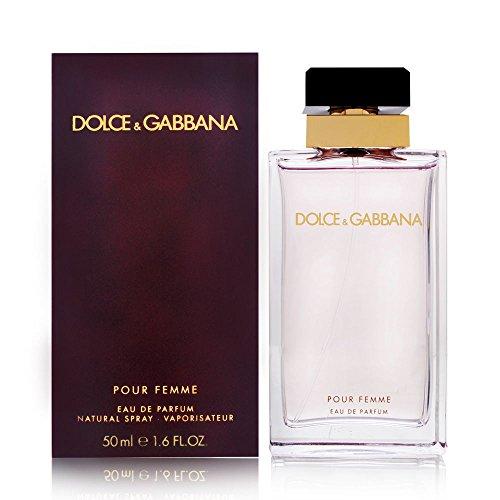 Dolce and Gabbana Eau de Parfum Spray for Women, 1.6 Ounce