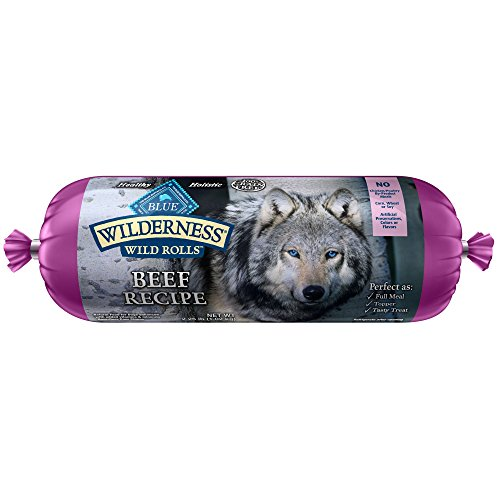 Dog Food Roll (Wilderness Blue Buffalo Beef Roll Wet Dog Food, 2.25)