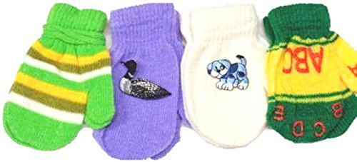 set-of-four-pairs-multicolor-magic-stretch-mittens-for-infants-ages-6-24-months