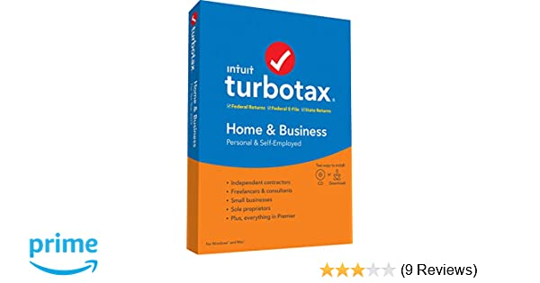Turbo Tax Home And Business 2020.Turbotax Home Business State 2019 Tax Software Amazon Exclusive Pc Mac Disc