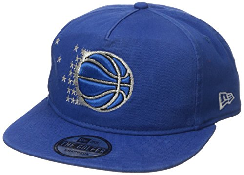 New Era NBA Orlando Magic Hardwood Classic Team Washed A-Frame Snapback Cap, One Size, Blue ()