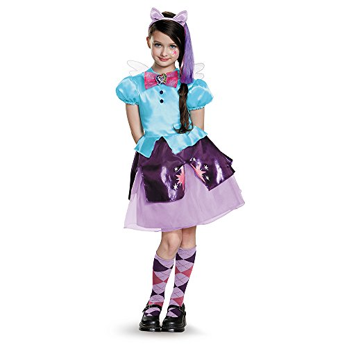 Disguise 85512G Twilight Sparkle Equestria Deluxe Costume, Large (10-12) -