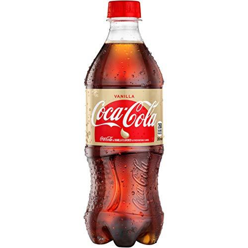 - Coca-Cola Vanilla Soda Soft Drink, 20 fl oz