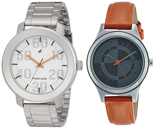 Fastrack Analog Gray Dial Watch
