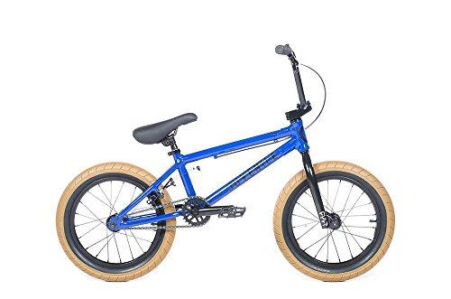 "Cult Juvenile 16"" Blue/Black/Gum Complete BMX Bike 2018"