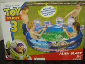 Toy Story 3 Alien Blast Pool by Disney