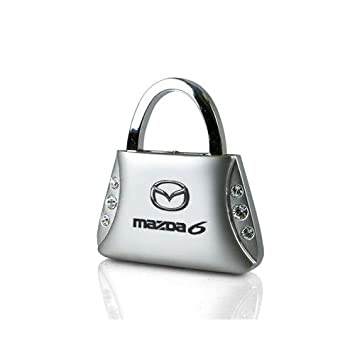 Mazda 6 bolso Forma llavero w/6 cristales de Swarovski ...