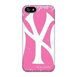 New Tpu Hard Case Premium Iphone 5/5s Skin Case Cover(new York Yankees)
