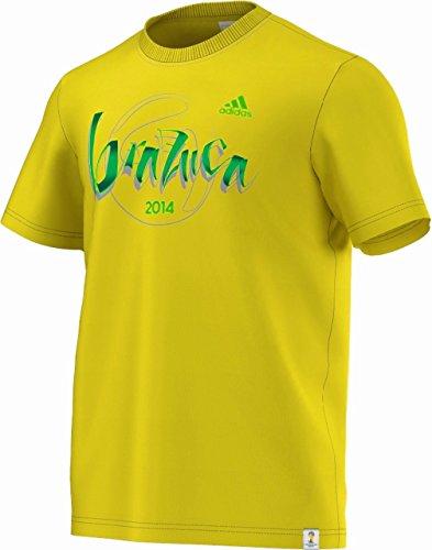 Adidas International club-replica Brazuca Shirt Vivyel