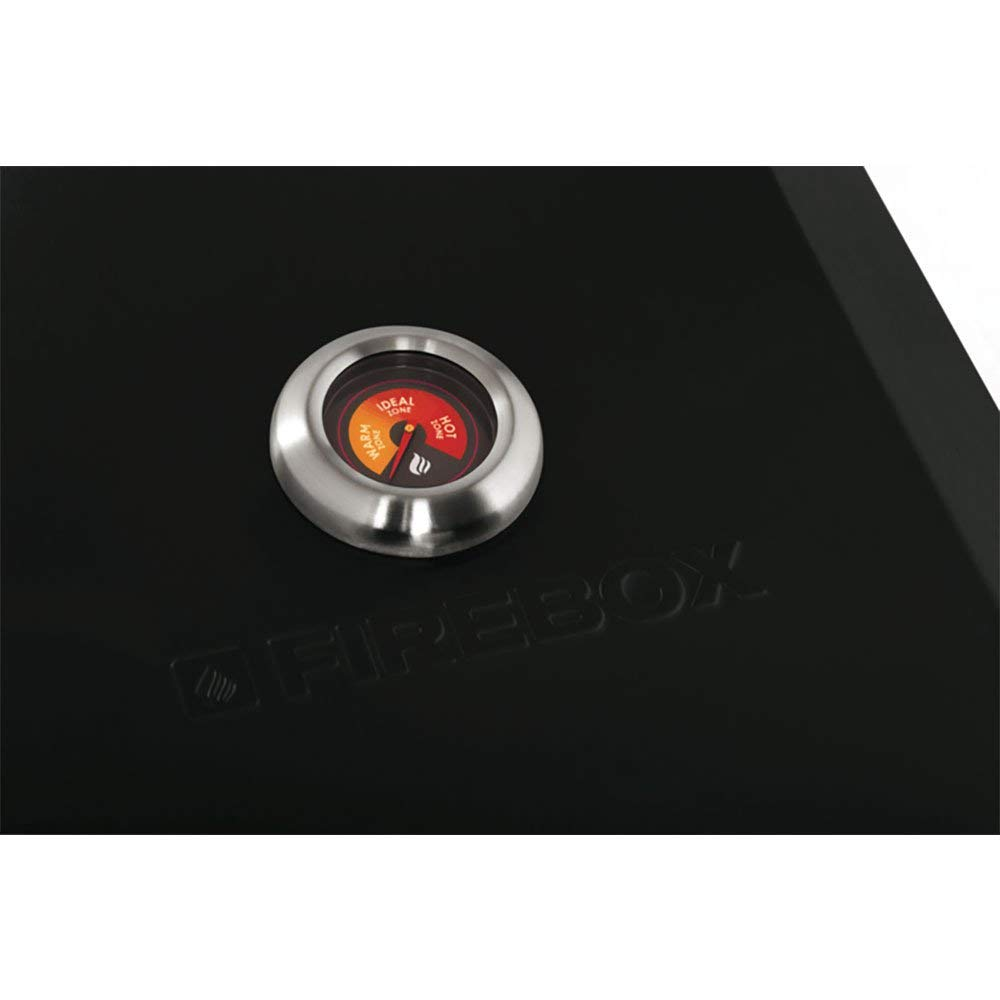 Bull Outdoor Products Portable Durable Fire Box BBQ Pizza Oven, Black Enamel by Flamebox (Image #2)