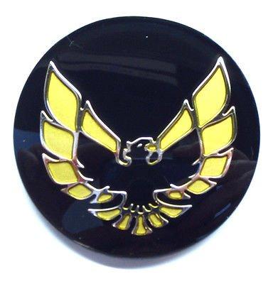 - The Parts Place Firebird Trans Am OEM Factory Center Cap Emblem - Gold GM # 10003606