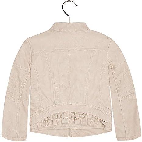 Mayoral Little Girls 2-9 Frilled Leatherette Jacket