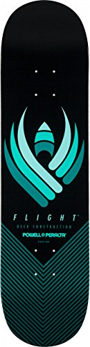 "Powell-Peralta Flight Skateboard Deck Shape 247 8.0"", Black"