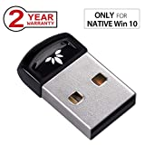 Avantree DG40SA Plug & Play Bluetooth 4.0 USB Dongle Adapter for Native Windows 10, PC & Computer (NOT for Upgraded System), Wireless Laptop Stick for Music, Skype Call, Keyboard, Mouse