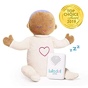 Lulla Doll—Baby Miracle Sleep Aid Soother, Heartbeat Sound Machine—Lulla Lilac