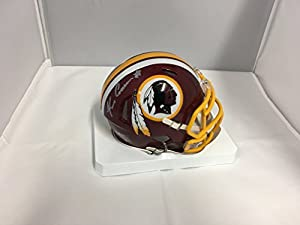 Kirk Cousins Autographed Signed Washington Redskins Speed Mini Helmet Hologram & Coa Card