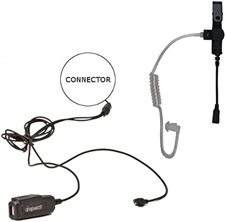 Impact Gold Series Earpiece Microphone for Motorola APX4000 APX6000 APX7000