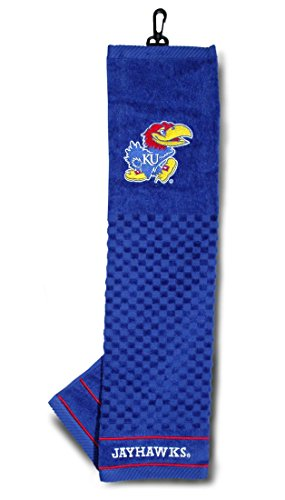 NCAA Embroidered Towel NCAA Team: (Kansas Jayhawks Embroidered Towel)