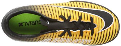 Nike Unisex-Kinder Jr. Mercurialx Victory Vi Ic Fußballschuhe Orange (Laser Orange/black-white-volt)